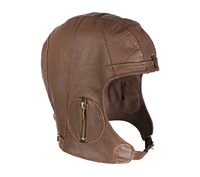 Rothco Brown Leather Pilot Helmet - 3569