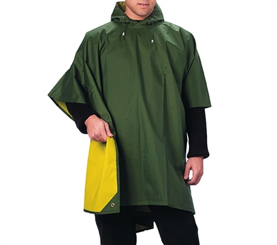 Rothco Reversible Rubberized Poncho - 3624