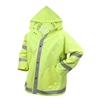 Rothco Safety Green Reflective Rain Jacket - 3654