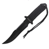 Rothco 7 Inch Paracord Knife with Fire Starter - 3679