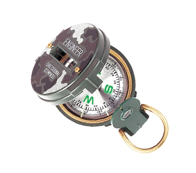 Rothco Military Lensatic Camouflage Compass - 400