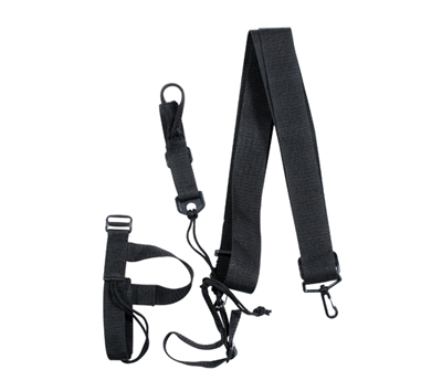 Rothco Black 3-point Rifle Sling - 4007