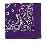Rothco Purple Trainmen Bandana - 4053
