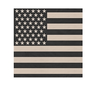 Rothco Subdued US Flag Cotton Bandana - 4074