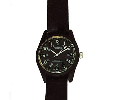 Rothco Black S.W.A.T. Watch - 4105