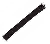 Rothco Black Canvas Pistol Belt - 4219