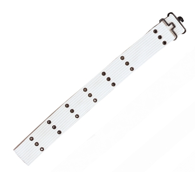 Rothco White Canvas Pistol Belt - 4226