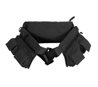 Rothco Black Canvas Fanny Pack - 4258
