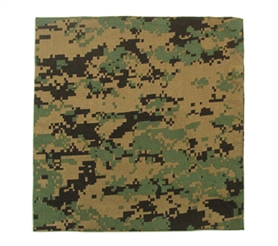 Rothco Woodland Digital Bandana - 4342