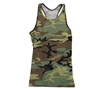Womens Camo Workout Performance Tank Top 44080