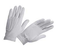 Rothco White Gripper Dots Parade Gloves - 4411