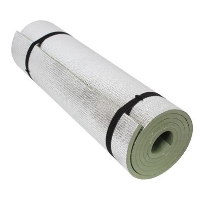 Rothco Olive Drab Thermal Reflective Sleeping Pad with Ties - 4422