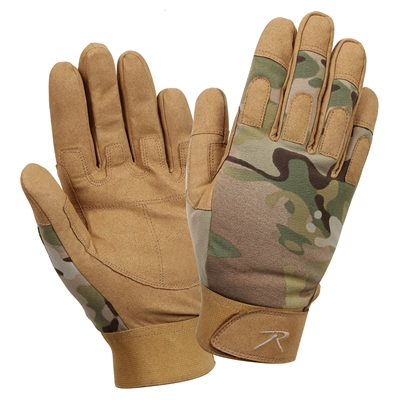 Rothco Multicam Duty Gloves - 4426