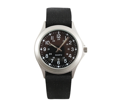 Rothco Black Military Style Quartz Watch - 4427