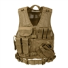 Rothco XL Cross Draw MOLLE Tactical Vest - 44491