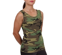 Rothco Womens Woodland Stretch Tank Top - 44590