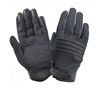 Rothco Black Padded Knuckle Gloves - 4461