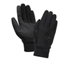 Rothco Black Lined Soft Shell Gloves 4464