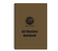 Rothco All Weather Waterproof Notebook- 44700