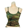 Rothco Womens Woodland Camo Tank Top - 4476