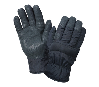 Rothco Black Cold Weather Nylon Gloves - 4494