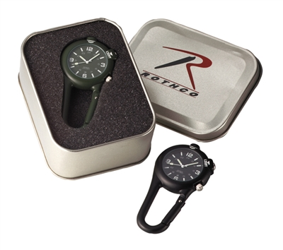 Rothco Clip Watch With Led Light - 4500
