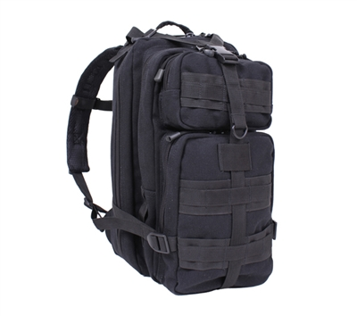 Rothco Black Tacticanvas Go Pack - 45050