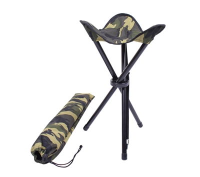 Rothco Collapsible Stool With Carry Strap - 4554
