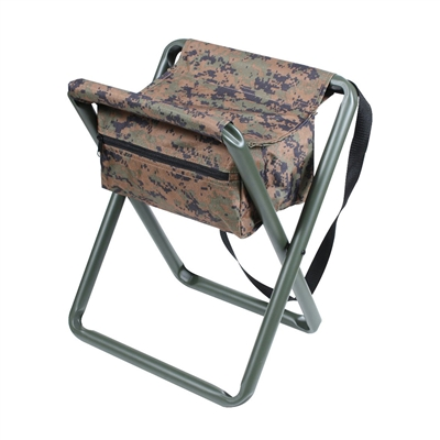 Rothco Woodland Digital Camo Stool - 4556