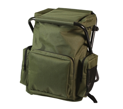 Rothco Olive Drab Backpack Stool Combo Pack - 4568