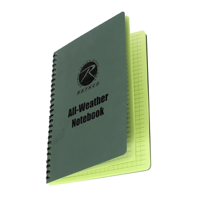 Rothco Waterproof Notebook - 463