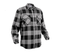 Rothco Grey Flannel Shirt - 4690