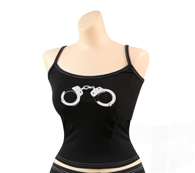 Rothco Womens Black Handcuff Tank Top - 4705