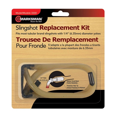 Marksman Replacement Band Slingshot Kit - 3330