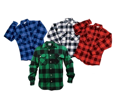 Rothco Heavyweight Flannel Shirt - 4739