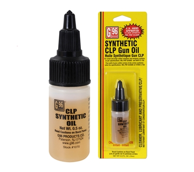 G96 Synthetic Clp Gun Oil - 4753