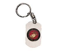 Rothco Marines Dog Tag Keychain - 4783
