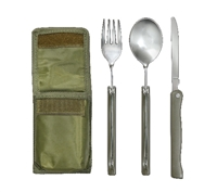 Rothco Olive Drab 3pc Folding Chow Kit - 487