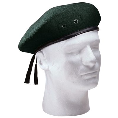 Rothco Green Wool Beret - 4908