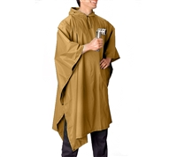 Rothco Coyote Rip-Stop Poncho - 4938