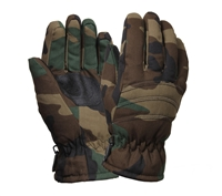Rothco Woodland Camo Insulated Gloves - 4944