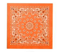 Rothco Orange Trainmen Bandana - 4948