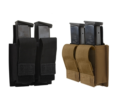 Rothco Double Pistol Mag Pouch With Insert - 51001
