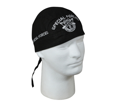 Rothco Black Special Forces Headwrap - 5163