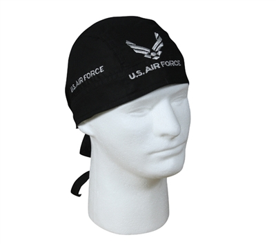 Rothco Black Air Force Headwrap - 5174