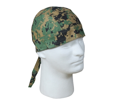 Rothco Woodland Digital Camo Headwrap - 5196
