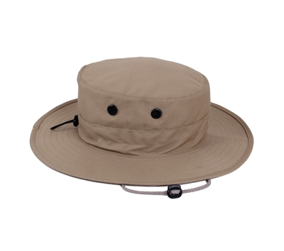 Rothco Khaki Adjustable Boonie - 52557