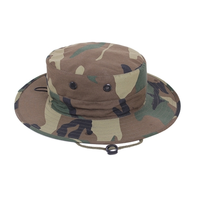 Rothco Woodland Camo Adjustable Boonie - 52558