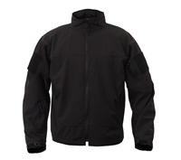Rothco Black Lightweight Soft Shell Jacket - 5262