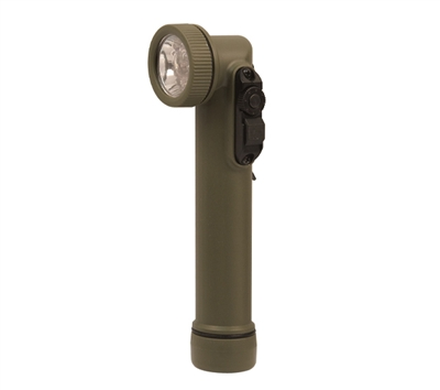 Rothco Olive Drab Mini Anglehead Flashlight - 527